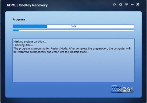 Erstellung Recovery-Partition