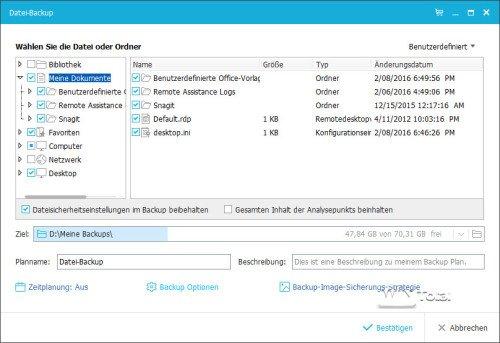 Datei-Backup