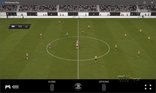 PS Remote Play Fifa 16