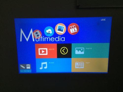 UNIC UC46 Mini WiFi abgedunkel