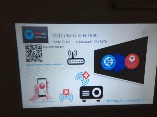 UNIC UC46 Mini WiFi drahtlos