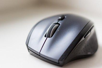Typische Wireless-Maus