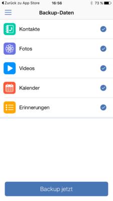 Acronis True Image 2017, Backup Smartphone