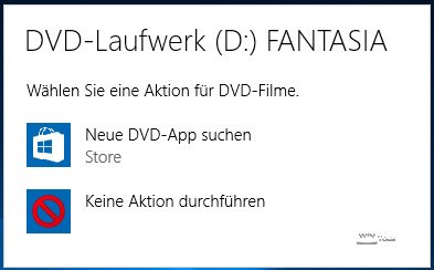 Aktion DVD Windows 10