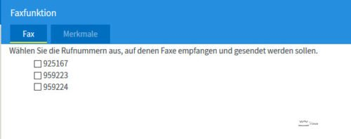 Fritz!Box - Faxfunktion einrichten