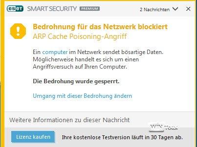 Heimnetz - Mögliche Bedrohung