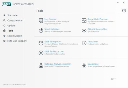 ESET NOD32 Antivirus Tools