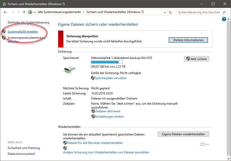 Windows 10 Zu Einem Fr?Heren Zeitpunkt Wiederherstellen