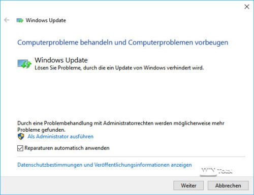 Windows Update Problemlöser