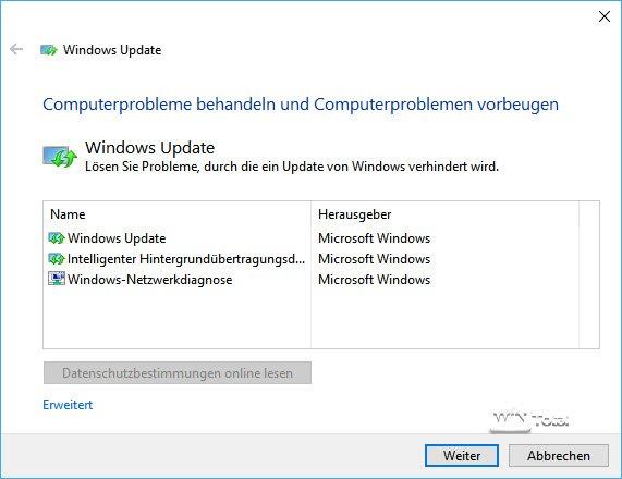 Probleme mit Windows Update unter Windows 10 beheben - WinTotal.de