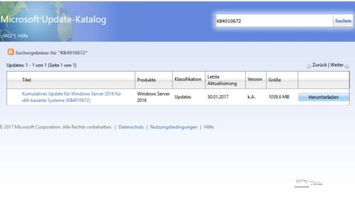 Microsoft-Update-Katalog