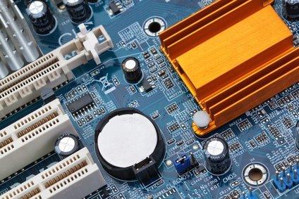 Mainboard mit Bios Batterie