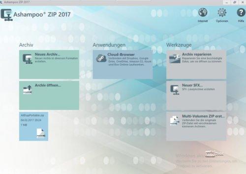 Ashampoo ZIP 2017