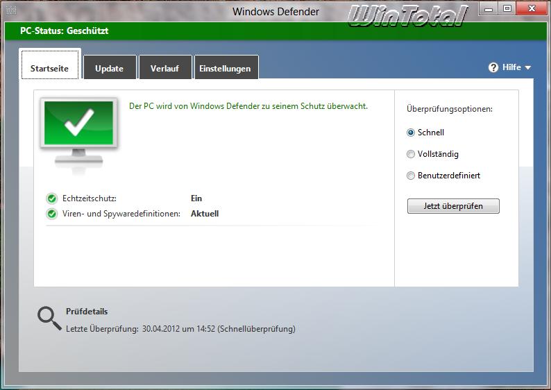 Windows Defender on Windows 10 Firewall