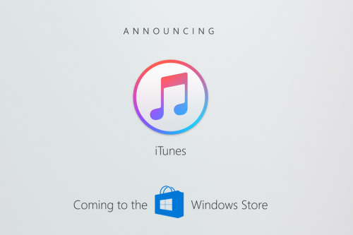 Itunes im Windows Store