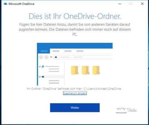 OneDrive-Ordner ändern