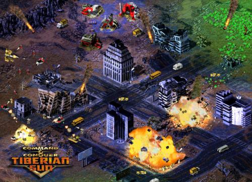 Screenshot aus Command & Conquer Tiberian Sun
