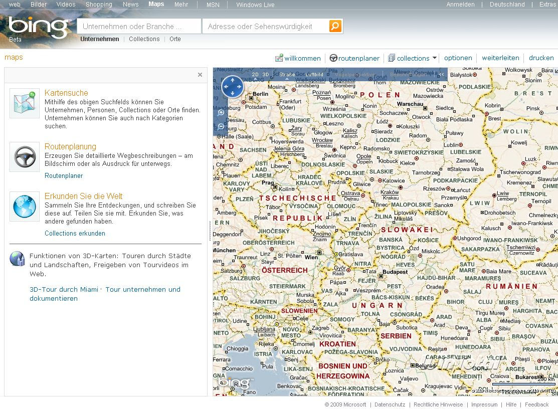 Bing Maps 3D - Download - Kostenlos & schnell auf WinTotal.de Download Bing Maps on