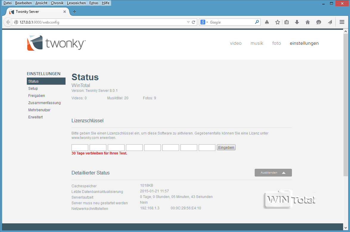 Twonky server download