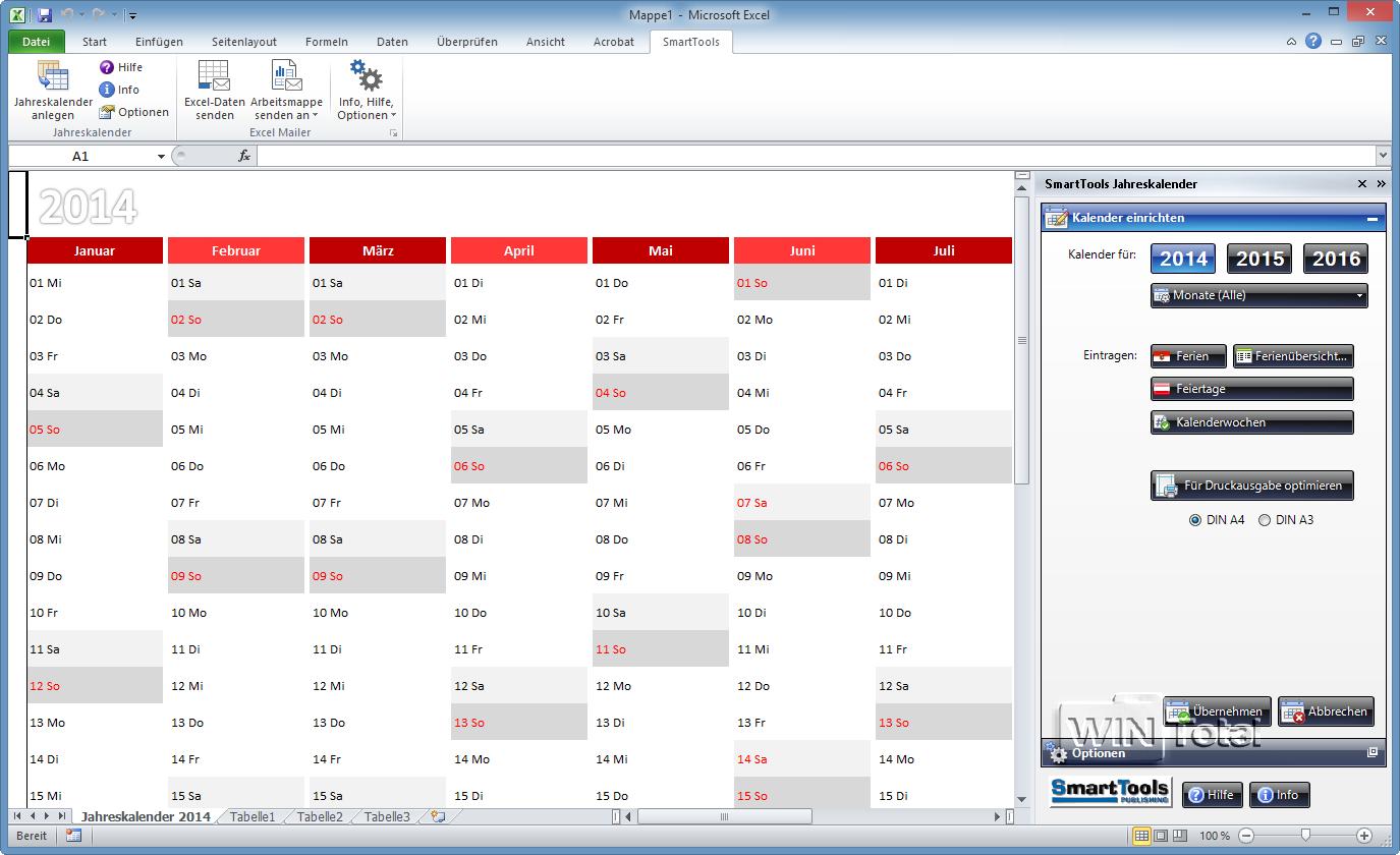 SmartTools Excel-Mailer - Download - WinTotal.de