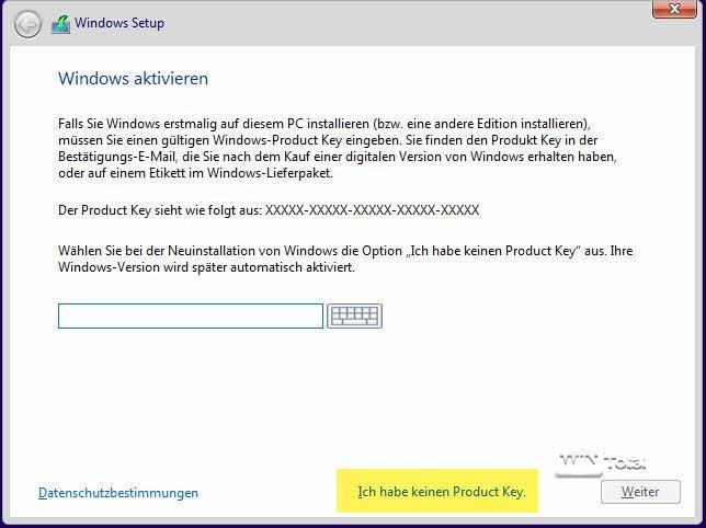 Windows System Builder Lizenz