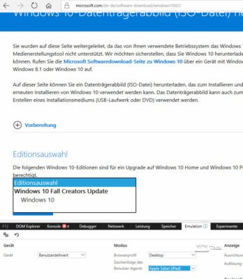 Download ISO-Dateien