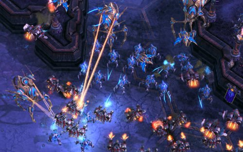 Screenshot aus StarCraft 2