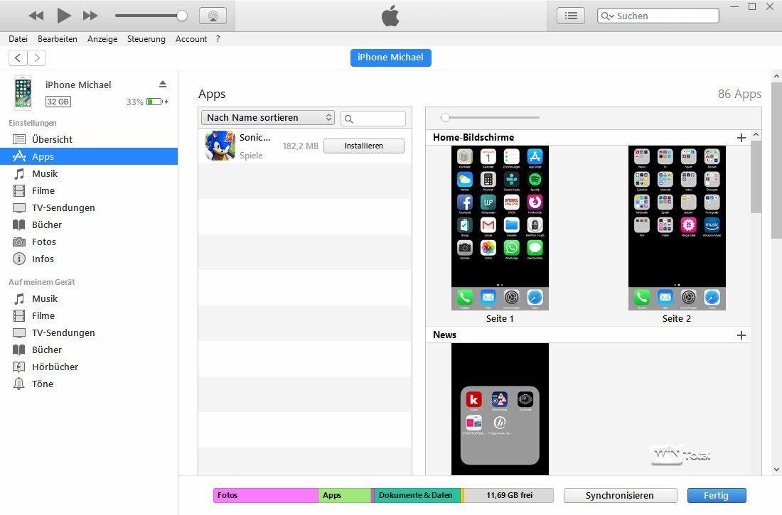 Itunes Apps Anzeigen