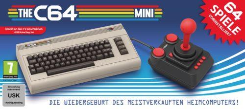 The C64 Mini: Bildquelle: KochMedia
