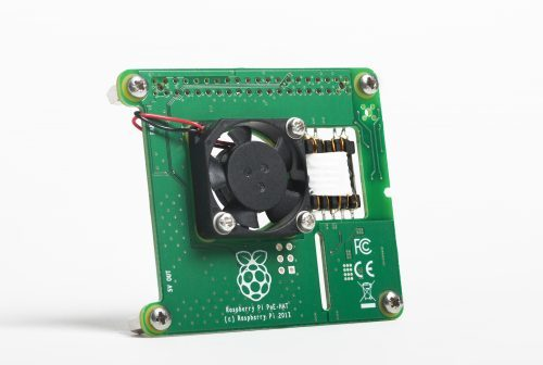 POE Hat für den Raspberry Pi 3 Modell B+, Bildquelle raspberrypi.org