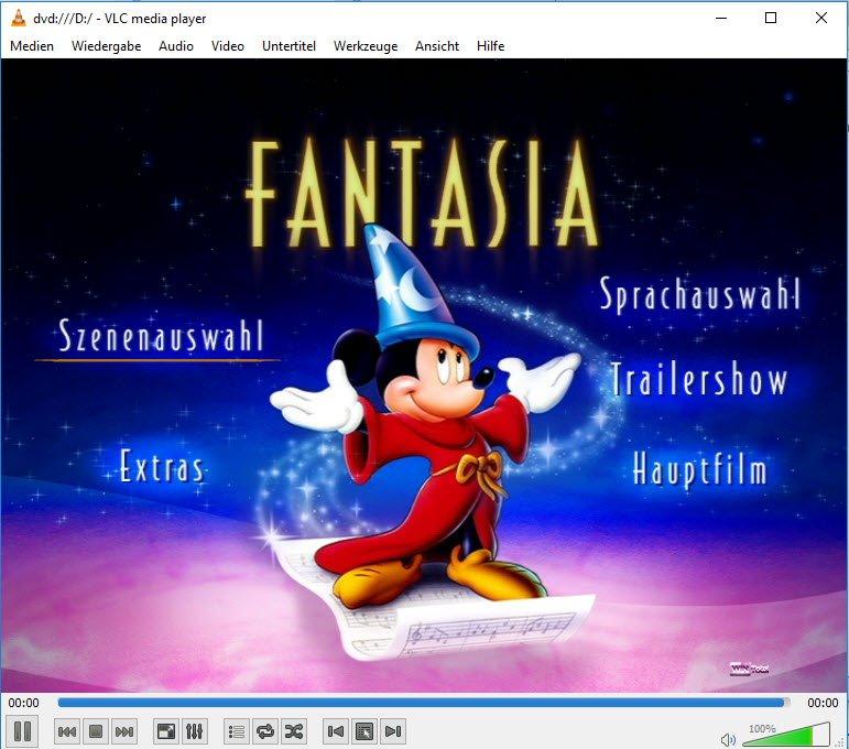 DVD-Wiedergabe