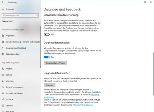 Diagnose und Feedback