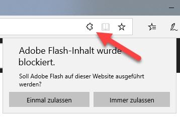 Flash Edge aktivieren