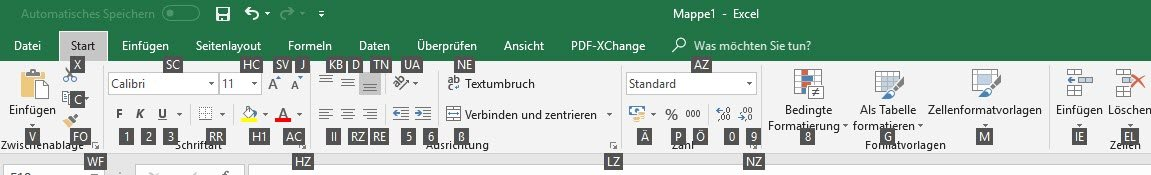 Hilfreiche Tastenkombinationen für Microsoft Excel - WinTotal.de