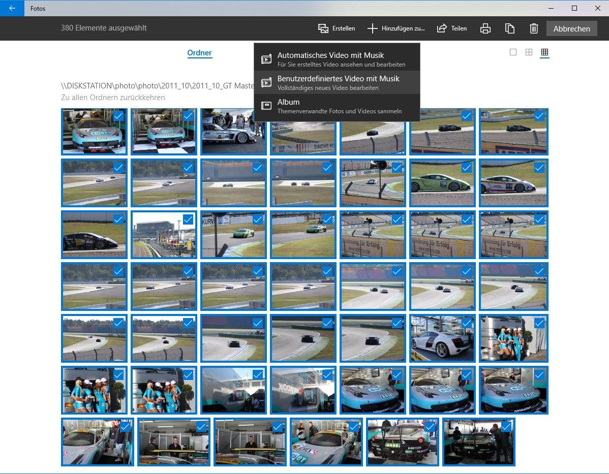 Windows 10 Fotos Diashow Geschwindigkeit ändern