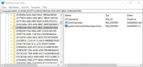 Laufwerk von OneDrive ausblenden