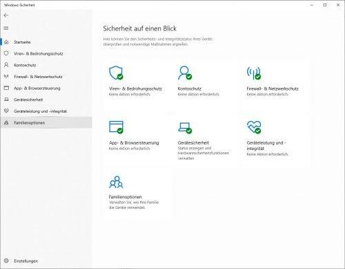 Windows Sicherheit