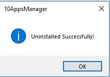 10Apps Manager deinstalliert Xbox-App