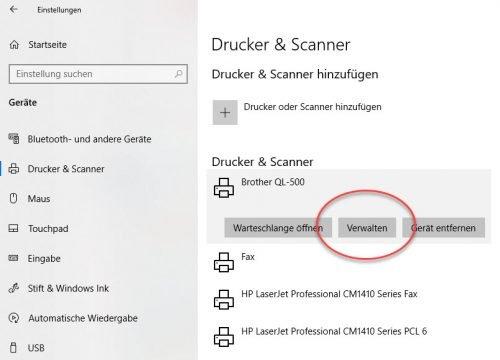 Netzwerkdrucker unter Windows 10 einrichten