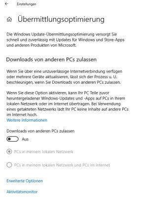 Internet schneller Windows