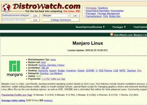 Distrowatch