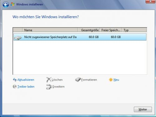 Installation von Windows 7 nach Windows 10