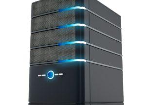 Server in Betrieb