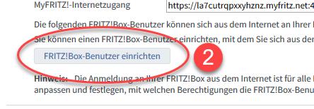 FRITZBox-Benutzer für den FRITZBox Fernzugriff einrichten