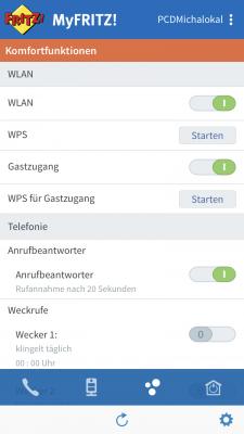 MyFRITZ App auf dem iPhone