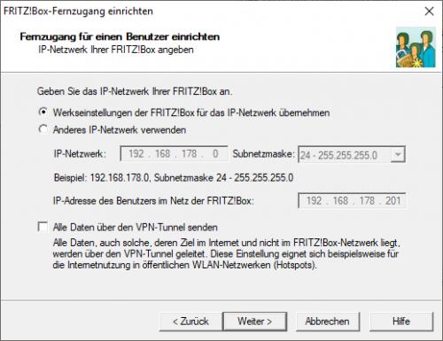 IP-Einstellungen