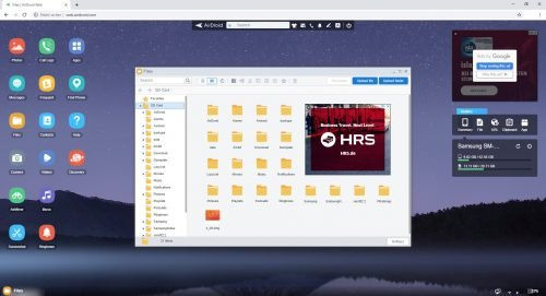 AirDroid Daten von Handy auf PC