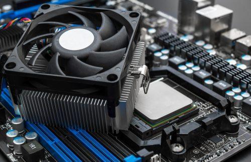 Prozessor Lüfter verhindert Überhitzen der CPU Kerne