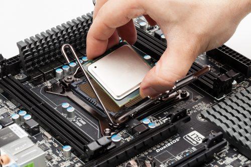 CPU mit mehreren Kernen auf Mainbaord