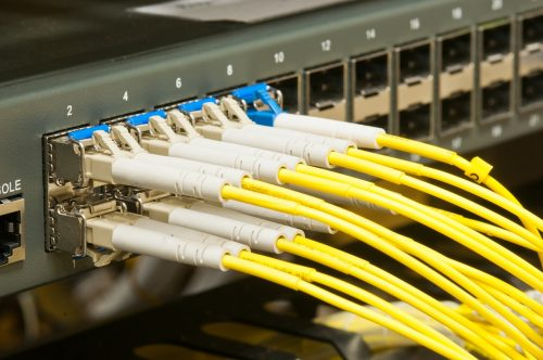 Fibre Channel Leitungen